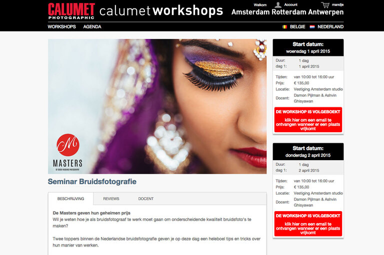workshop calumet