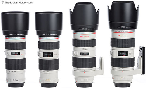 Canon-70-200mm-L-Lenses-With-Hoods