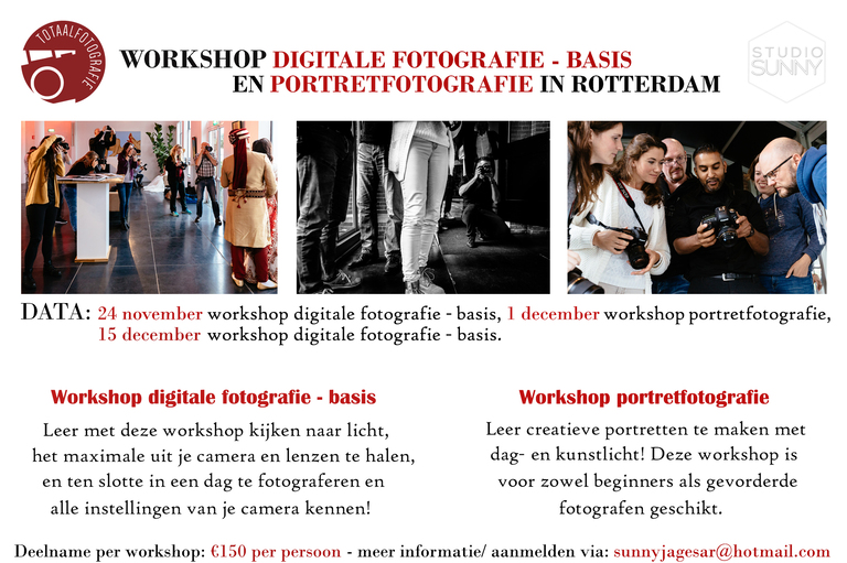 basisworkshop fotografie